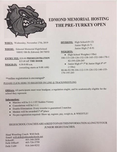 2019.11.27 Pre-Turkey Tournament